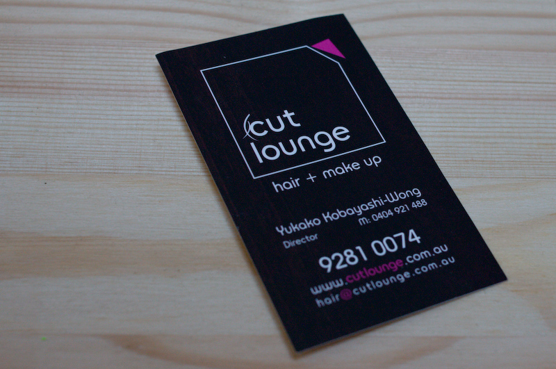 Cutlounge business card