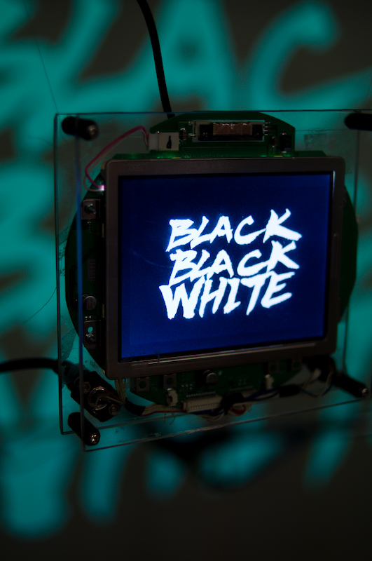 LCD screens for Black Black White