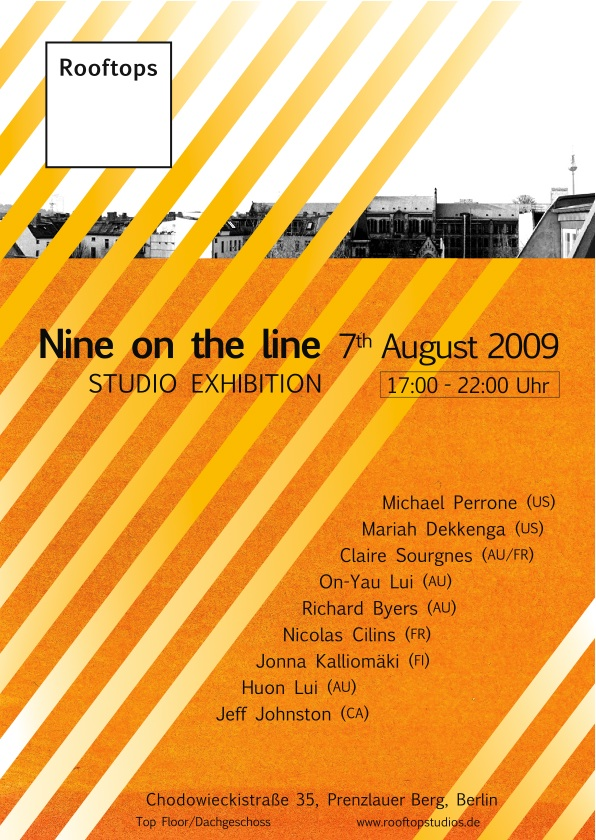 Rooftops Studio exhibition 7th August